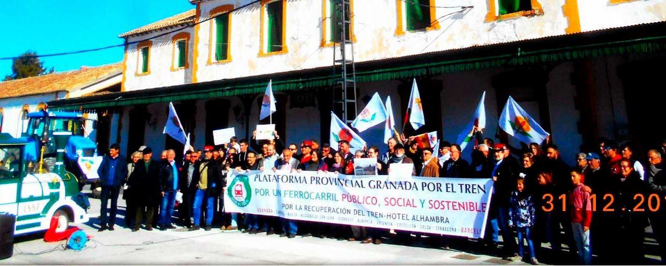 Granada-Murcia … ¡34 años sin tren!