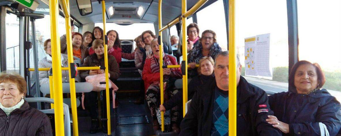 Aljucer y otras pedanías vuelven a tener autobús público