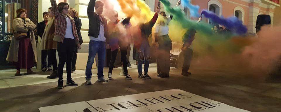 'No Toleramos La Intolerancia', Concentración Ciudadana