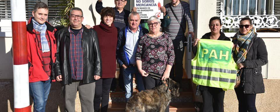 Paralizado el desahucio de Roque y su familia