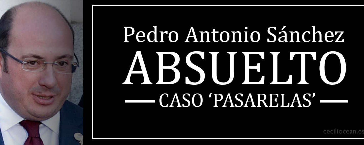 Con este 'truco' Pedro Antonio Sánchez queda absuelto por el caso 'Pasarelas'