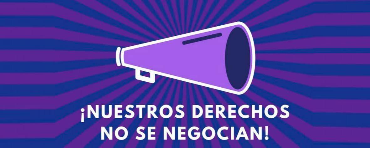 'Nuestros Derechos NO Se Negocian', Concentración Feminista por Andalucía