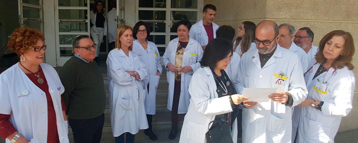 Concentraciones en Hospitales y Centros de Salud por una Sanidad Pública Digna y de Calidad