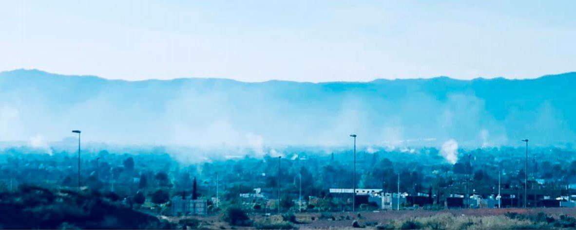 Denuncian quemas agrícolas que diariamente contaminan  el aire de Murcia